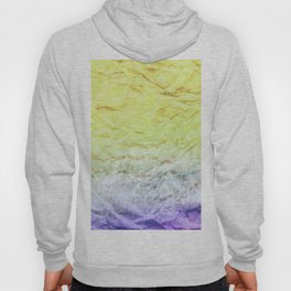 Crumpled Paper Textures Colorful P 909 Hoody