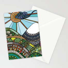'Land's End to John O'Groats' Stationery Cards