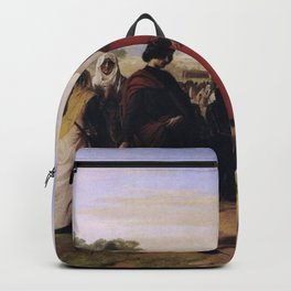 Francesco Hayez - The Sicilian vespers Backpack