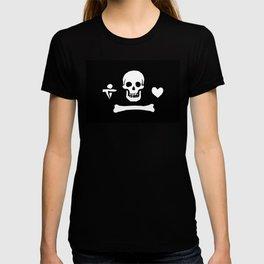 Stede Bonnet Pirate Flag Jolly Roger T-shirt