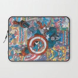 The American Superhero - Comic Art Laptop Sleeve