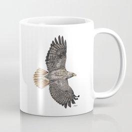 Red Tailed Hawk Coffee Mug