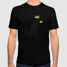 Jean-Michel Basquiat's Crown on Japanese Monster T-shirt