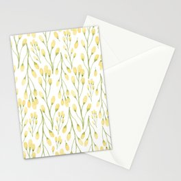 Messages of Love | Yellow Flowers Stationery Cards