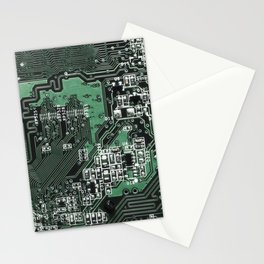 Circuit Board 2 Stationery Cards