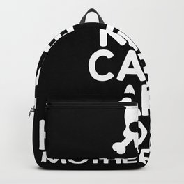 Ceep Calm And Headbang Motherfucker Backpack