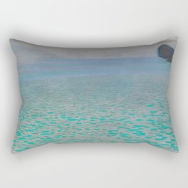 Gustav Klimt - Attersee - 1900 Rectangular Pillow