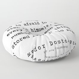 86     | Fyodor Dostoevsky Quotes | 190801 Floor Pillow
