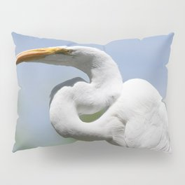 Great Egret Three - Utah Pillow Sham