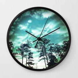 Big Sky - America As Vintage Album Art Wall Clock