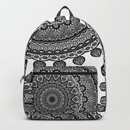 Mandala Black&White Backpack