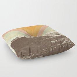 Mountainscape 2 Floor Pillow