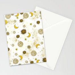 Vintage Sun and Moon Stationery Cards
