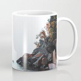 Lake Superior Black Sand Beach Coffee Mug