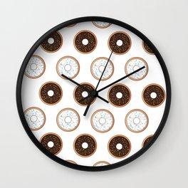 Donuts-licious Wall Clock