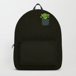 Cute Pocket Goblin Backpack