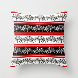 BUFFALO FACTORY  Pattern 1 Throw Pillow
