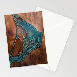 Epoxy River Tables - Montreal Stationery Cards