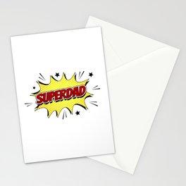SuperDad (Super Dad) Stationery Cards
