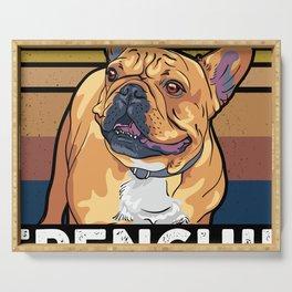 French Bulldog Dog Owner Gift Serving Tray