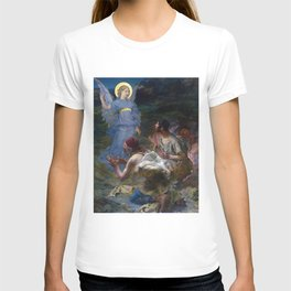 The Annunciation to the Shepherds by Jules Bastien-Lepage (1875) T-shirt