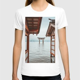 Itsukushima Shrine. Torii gate. Miyajima, Japan. Travel print - Photography wall art. Art print. T-shirt