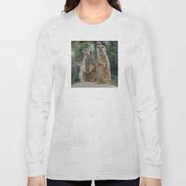 Meerkats: Best Friends Forever Long Sleeve T-shirt