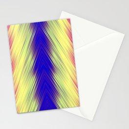 stripes wave pattern 8v1 bry Stationery Cards