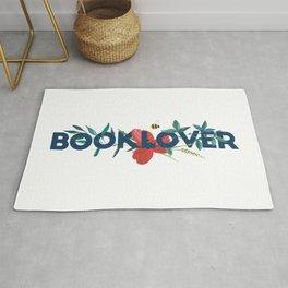 Floral BOOKLOVER Rug