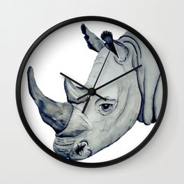 Grey King Wall Clock