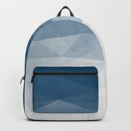 Imperial Topaz - Geometric Triangles Minimalism Backpack