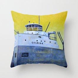 S.S. Selkirk Throw Pillow
