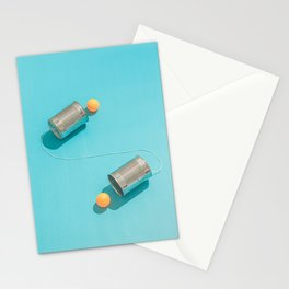 Ping Pong Talk Stationery Cards