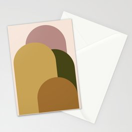 Minimal Arches XI Stationery Cards