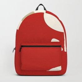 Flower seventies style. Backpack