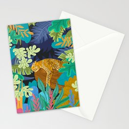 Sleeping Panther Stationery Cards