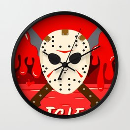 T.G.I.F- Friday the 13th Wall Clock