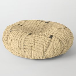 Nautical Rope Floor Pillow