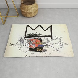 Jean-Michel Basquiat, King Alphonso (1983) Society6 Shop Online S6 Rug