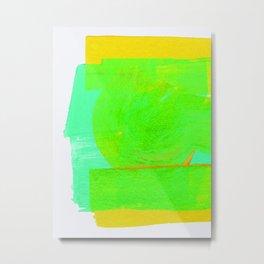 color variations in green 02 Metal Print