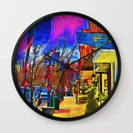 The Lawyers Office And The Village Shops Wall Clock