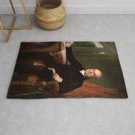 John Quincy Adams Portrait Rug