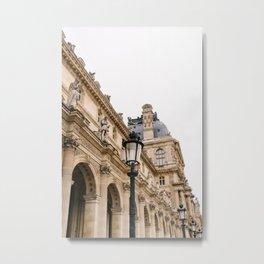 Louvre III Metal Print
