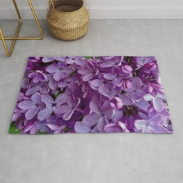 Lilac Blooms Rug