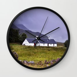 The Cottage in the Glen II Wall Clock