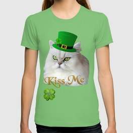 St. Patrick's Day Irish Cat T-shirt
