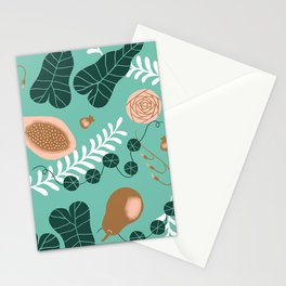 Pears, Guava and Leaves Stationery Cards