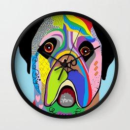 Mastiff Wall Clock