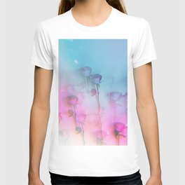 Pretty Pink Roses T-shirt