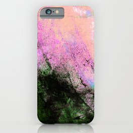 AN ABSTRACT SUMMER DAY HF iPhone Case